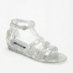 Urban Outfitters Sparkle jelly sandals